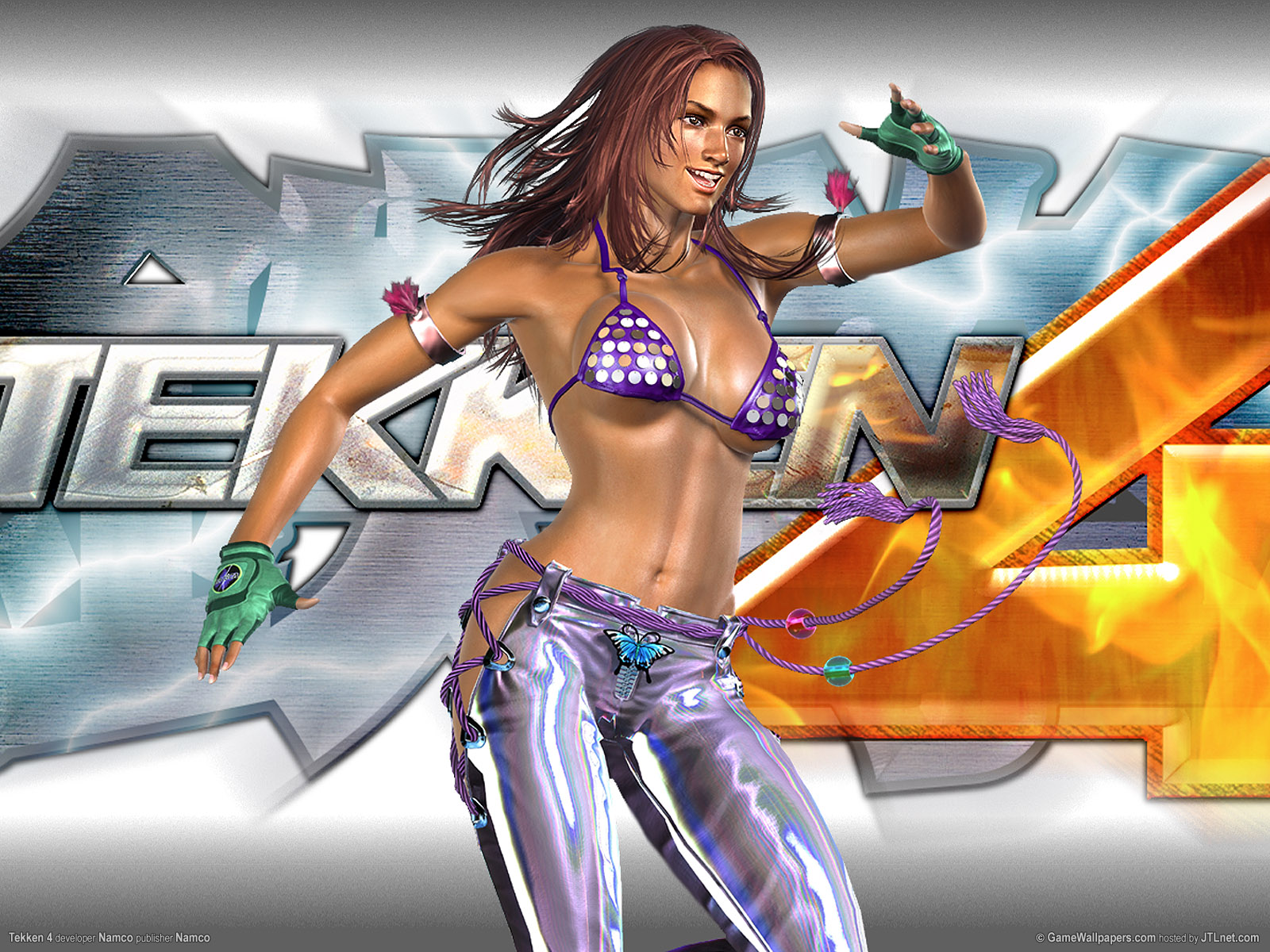 wallpaper tekken 4 01 1600