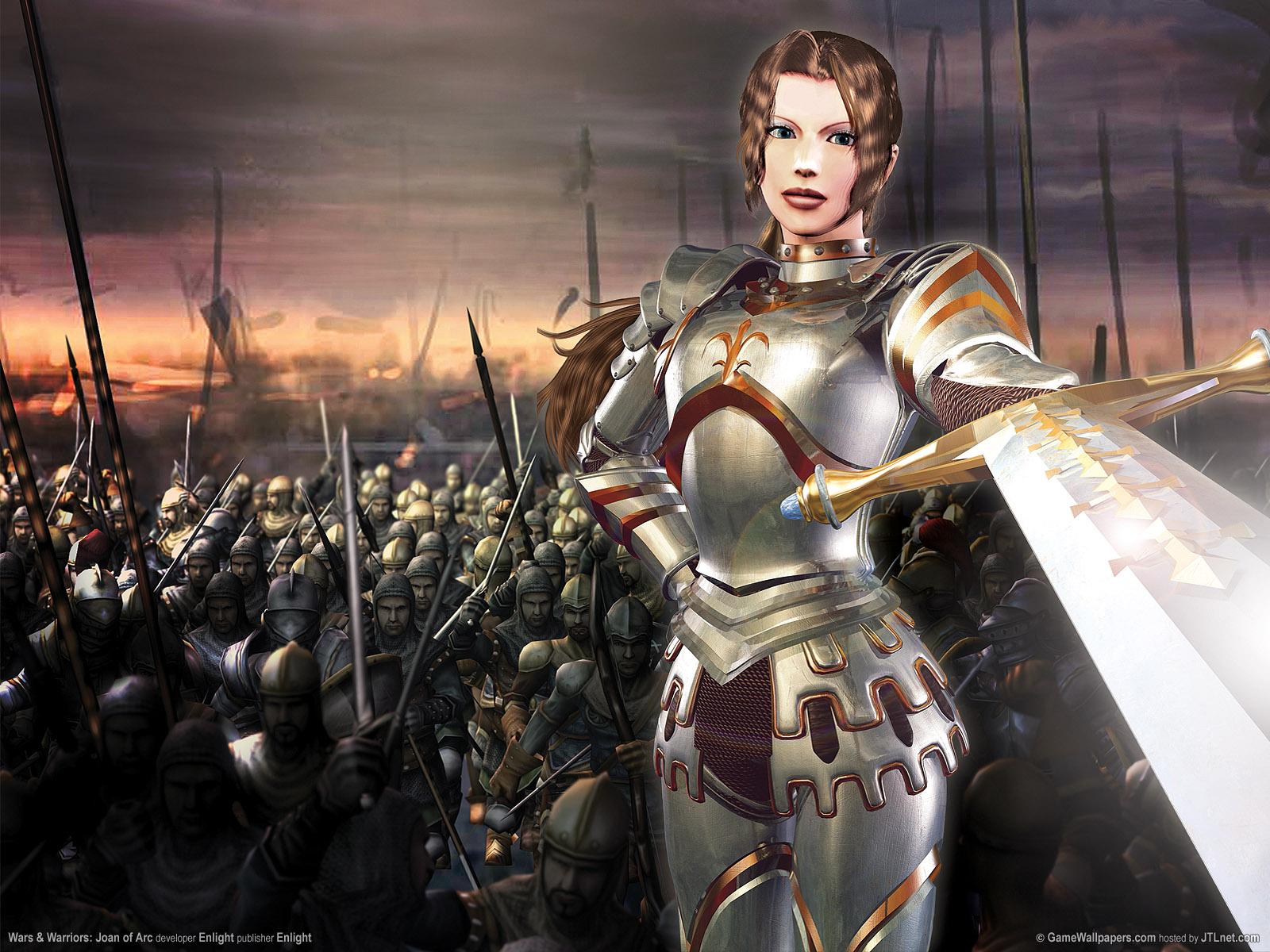 wallpaper wars and warriors joan of arc 01 1600