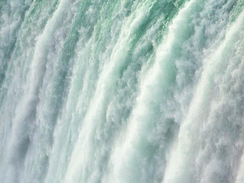 LAND waterfall