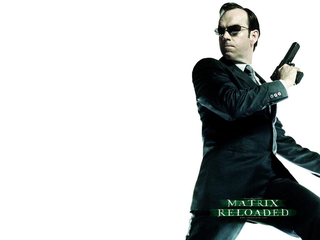 matrix reloaded Agent Smith