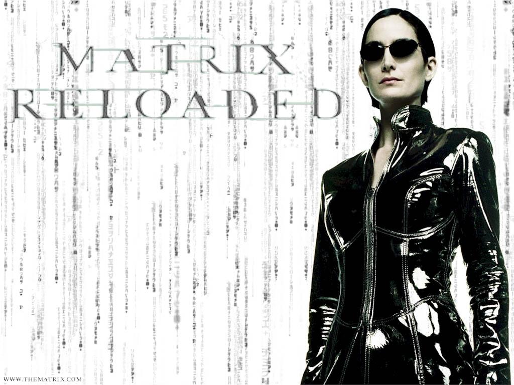matrix reloaded Trinity